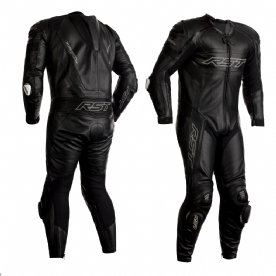 RST Tractech Evo R 1 Piece Leather Suit Black